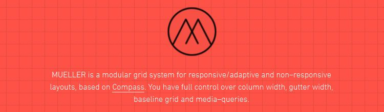Mueller Grid System top 50 css tools resources 2013