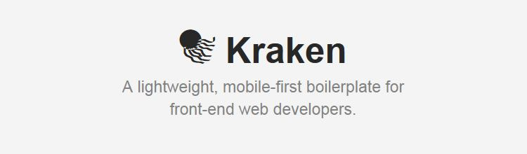 Kraken - New Resources for Web Designers and Developers