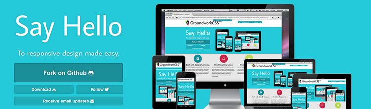 GroundworkCSS top 50 css tools resources 2013