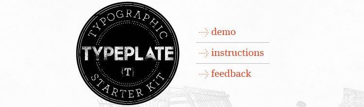Typeplate top 50 css tools resources 2013