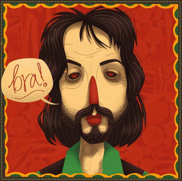 The Illustrated Beatles steve simpson illustration portfolio