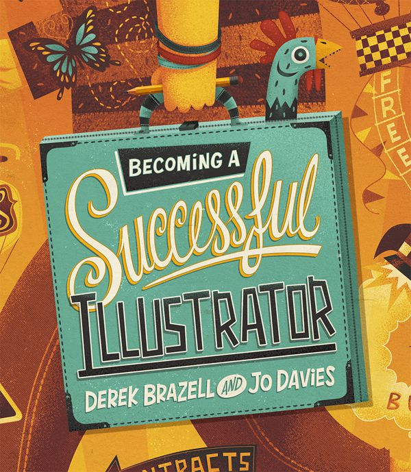 Becoming a Successful Illustrator Book Jacket steve simpson illustration portfolio