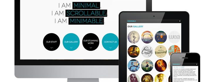 Minimable WordPress Theme