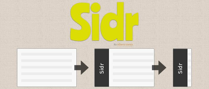 Sidr is an easy to use jquery plugin that will create a responsive Facebook-a-like side menu