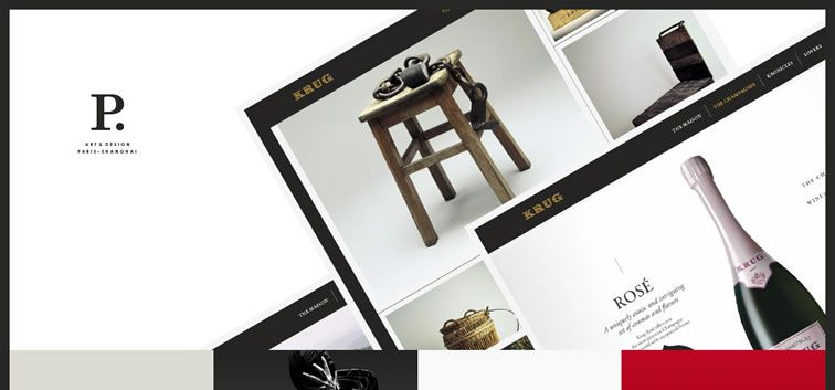 The web design inspiration portfolio of Pierrick Calvez