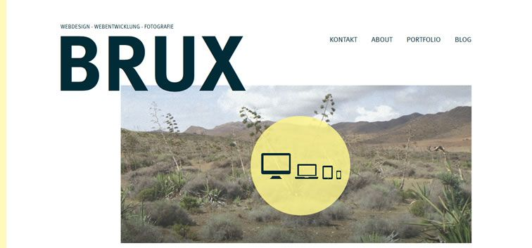 The web design inspiration portfolio of Oliver Brux