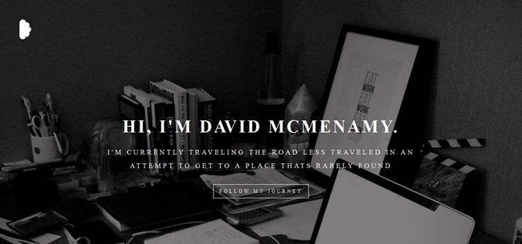 The web design inspiration portfolio of David Mcmenemy