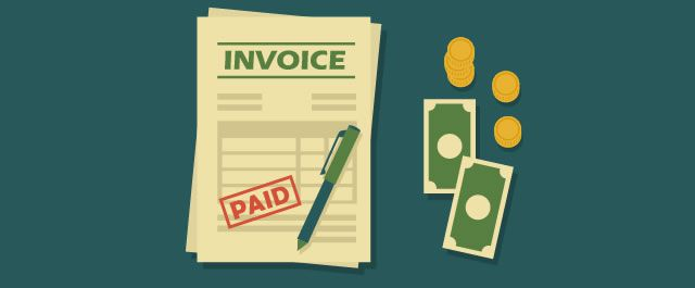 Flat Paid Invoice