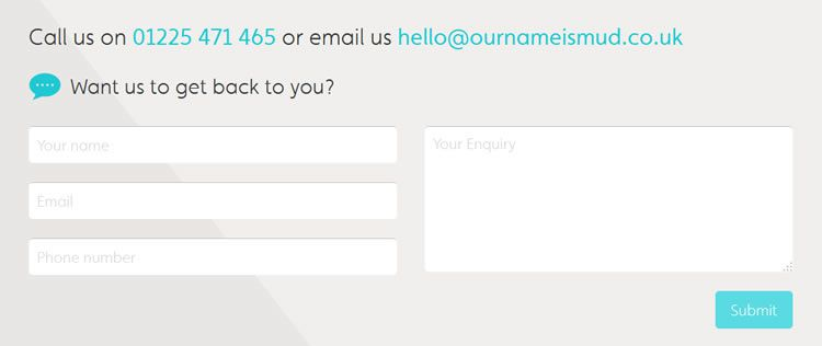 20 highly creative contact form designs for inspiration