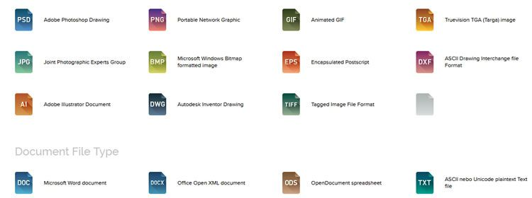 File Type Icons free 62 Icons in AI & PNG Formats