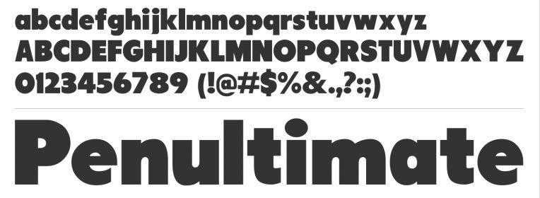 Tondu free Web Font
