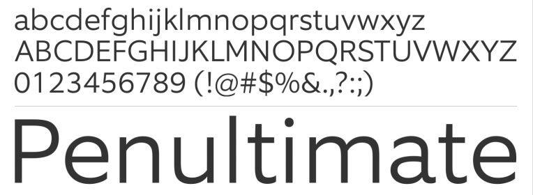 Equip free Web Font