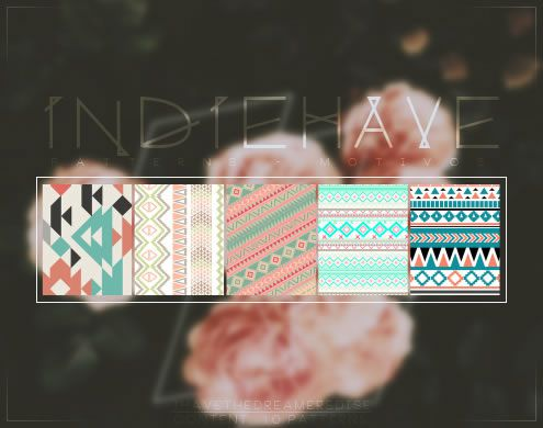Indiehave free 10 Photoshop Patterns