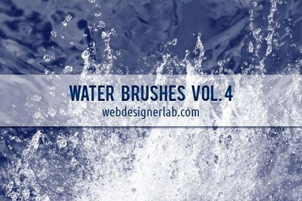 Water Brushes Vol. 4 free 20 Brushes