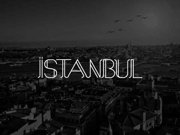 free quirky font typeface Istanbul