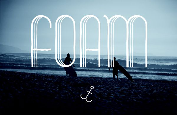 free salt foam quirky font typeface