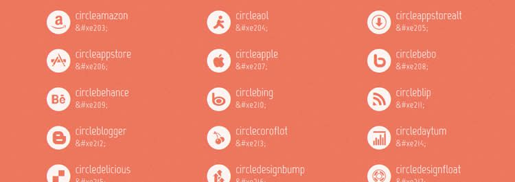 Mono webfont social free icons media network Best Icon Sets