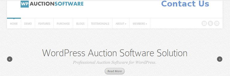 WP Auction Software