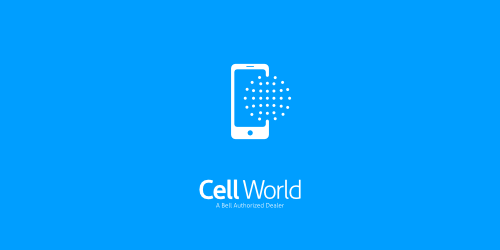 Cell World flat logo inspiration example