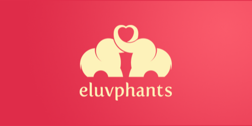 eluvphants flat logo inspiration example