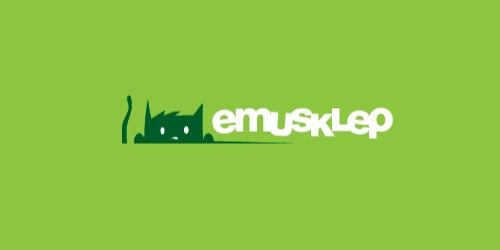 emusklep flat logo inspiration example