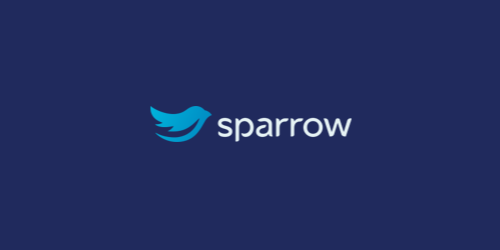 sparrow flat logo inspiration example