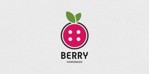 berry flat logo inspiration example