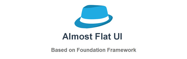 Almost Flat CSS responsive UI kit top 50 css tools resources 2013
