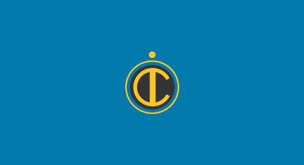 Inter minimal flat football soccer logos badges