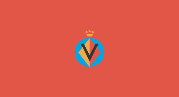 Villarreal minimal flat football soccer logos badges