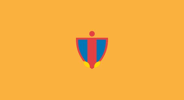 CSKA Moscow minimal flat football soccer logos badges