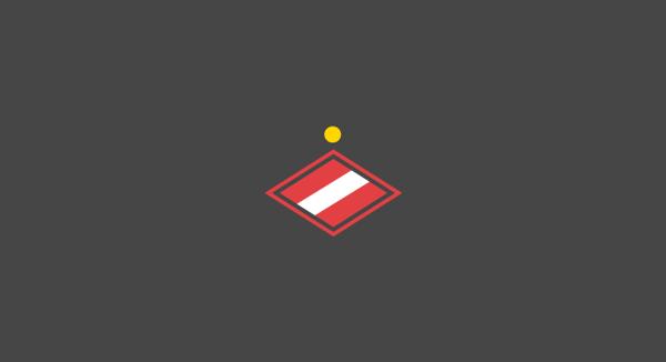 Spartak Moscow minimal flat football soccer logos badges