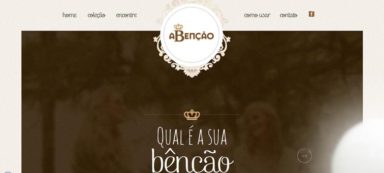 aBenção - Malhas e Tricots Criativos animated css parallax scrolling
