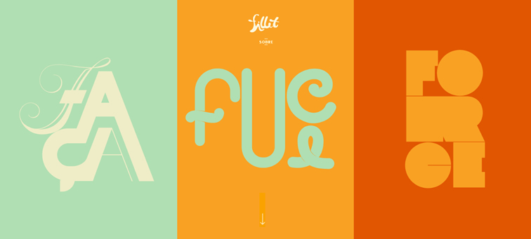 Fillet animated css parallax scrolling
