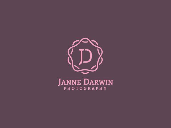 Elegant Monogram Logo Design Branding