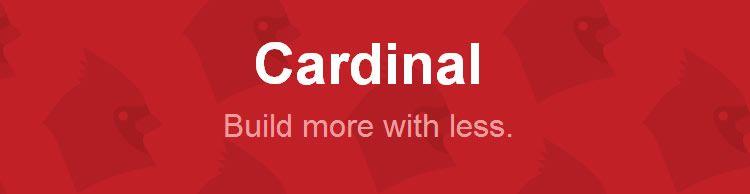 Cardinal CSS framework grid responsive UI kit top 50 css tools resources 2013