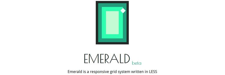 Emerald - A Responsive Grid System Written in LESS top 50 css tools resources 2013