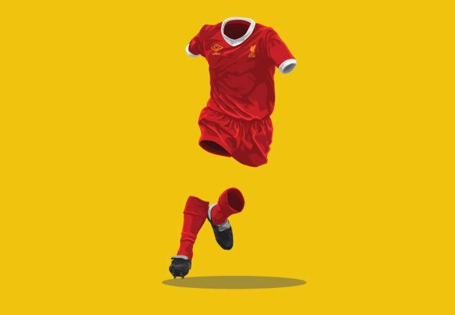 Liverpool 1979-1979 football kit illustration ghost