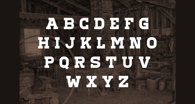 headline font free Corduroy Slab