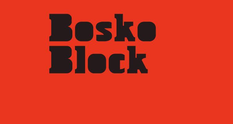headline font free Bosko Block