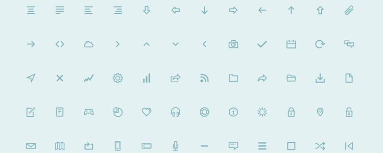 Dripicons PSD, AI, EPS, PDF, SVG & Icon Font Best Icon Sets
