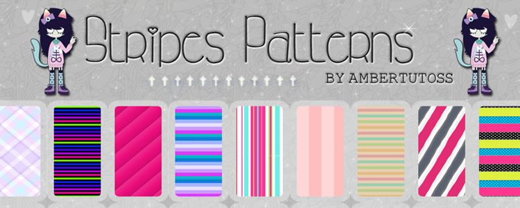 18 Stripes Patterns PAT