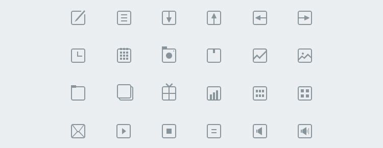 Thinicons Best Free Icon Sets
