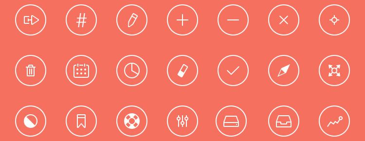 Thin Rounded Icons Best Free Icon Sets