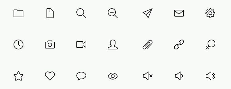 Simple Line Icons Best Free Icon Sets