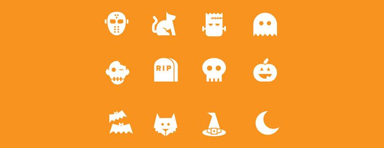 Halloween Icons designers freebies