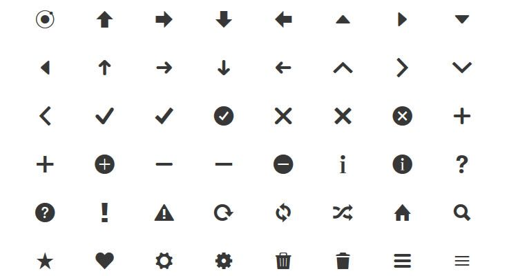 Ionicons Best Icon Sets