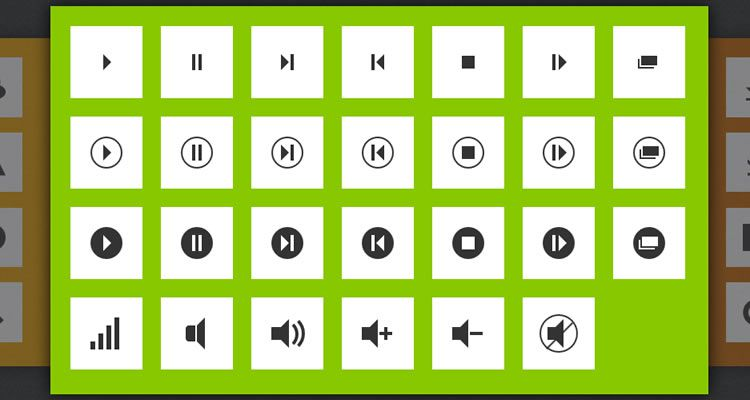 200 CSS3 Icons designers freebies