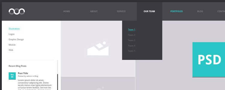 Portfolio Archive designers freebies