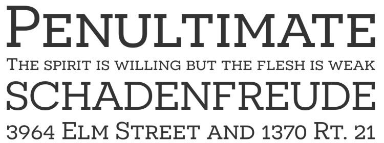 Novecento Slab free font designers freebies